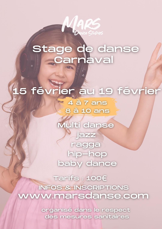 Stage de danse Carnaval