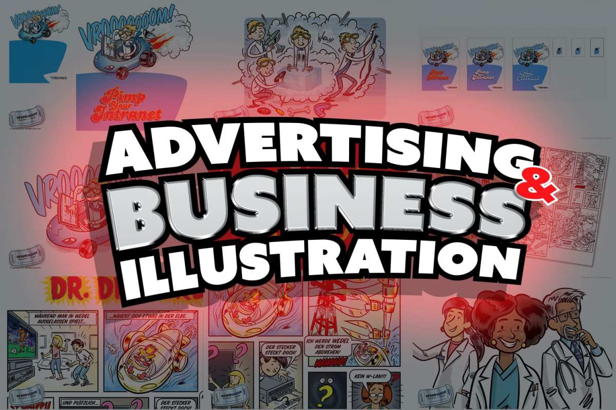 Advertising and Business Illustration
