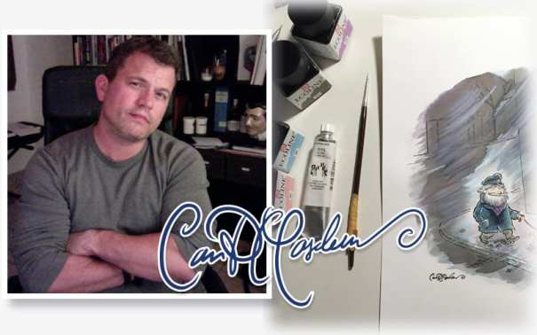 Ian David Marsden illustrator and designer