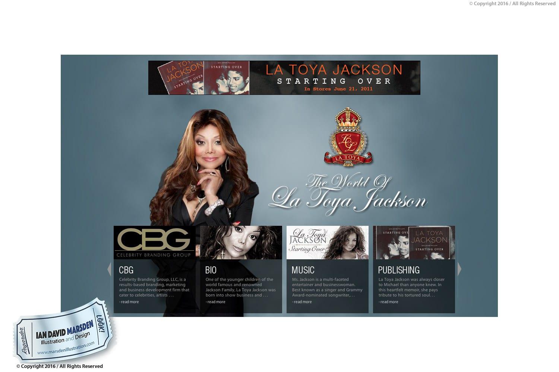 La Toya Jackson Royal Crest Design with Diamonds - Ian David