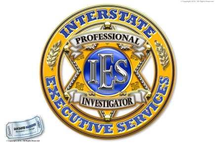 Image of private investigator logo, character and mascot design by Ian David Marsden
