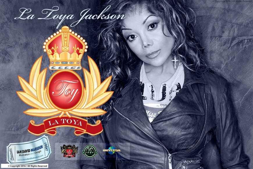 TOY La Toya Jackson Logo