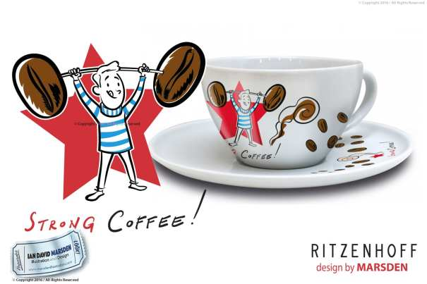 RITZENHOFF Coffee Love Man Cup by Marsden