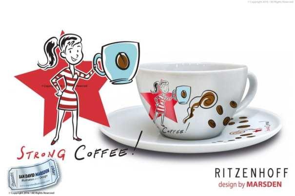 RITZENHOFF Coffee Love Woman Cup by Marsden