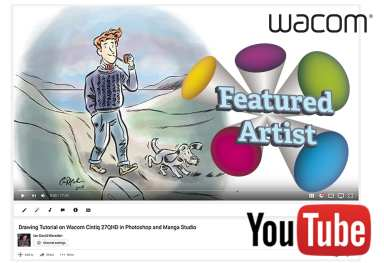 Wacom Featured Artist