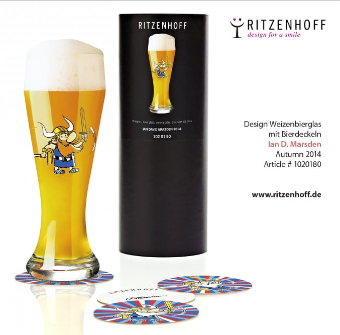 Beer Glass Design for RITZENHOFF Design Collection