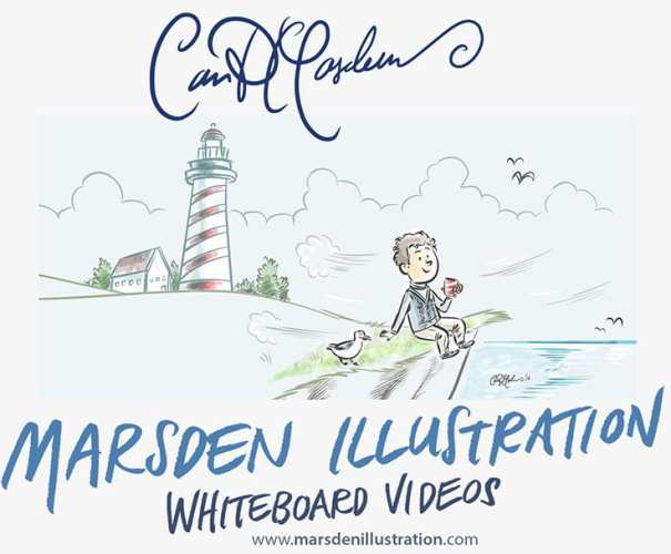 Whiteboard Animation and Illustration by Ian David Marsden