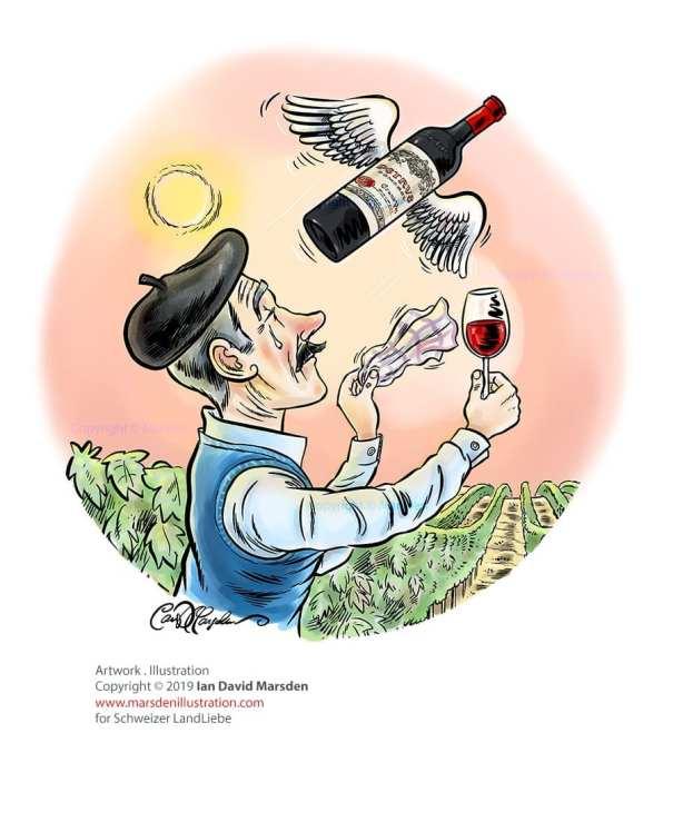 Illustration: Neue Rebsorten, Neue Wein-Zukunft