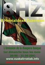 8HZ l'émission de radio pour les basques du monde..