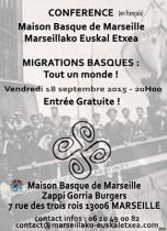 Conférence Migrations Basques
