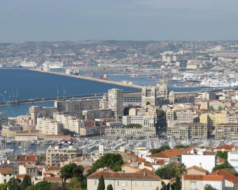 Joliette Docks In Marseille France
