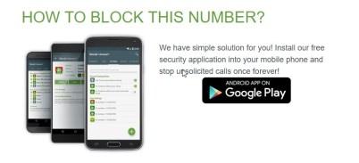 Block This Number
