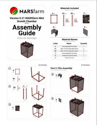MARSfarm Mini Assembly Guide