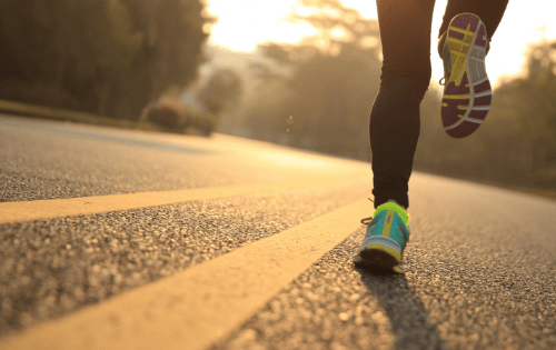 running and life