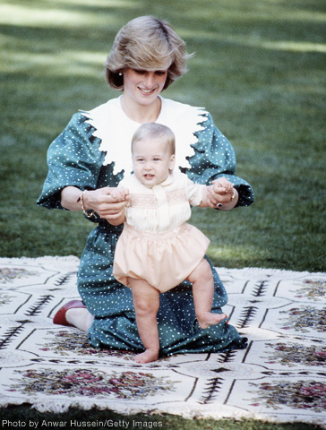 Prince William baby photo