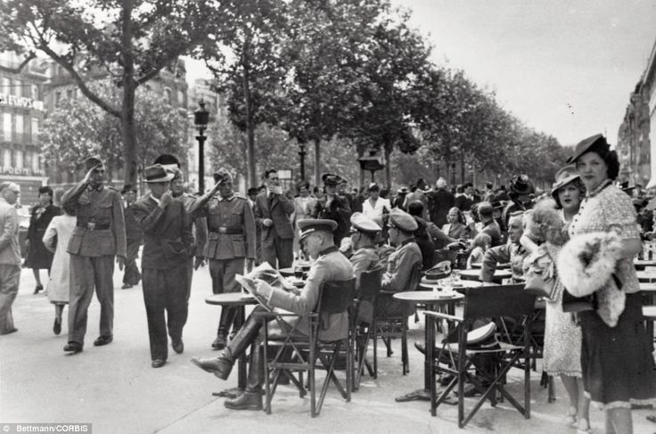paris bastille day 1940