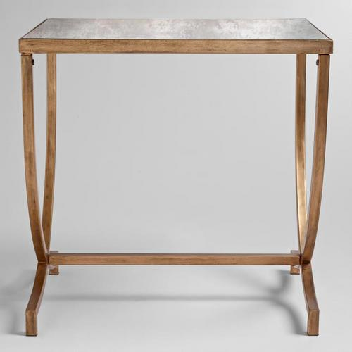 gold accent table from Renatta