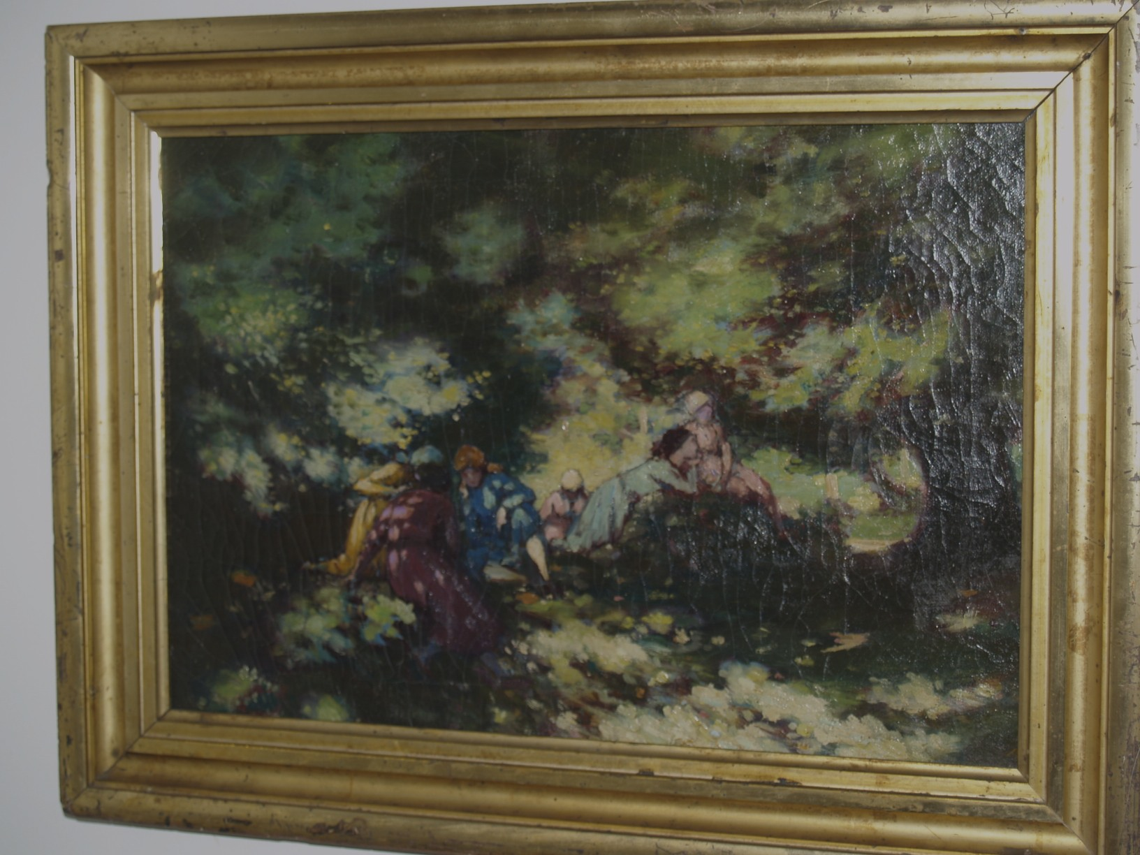 A. E. Russell oil painting