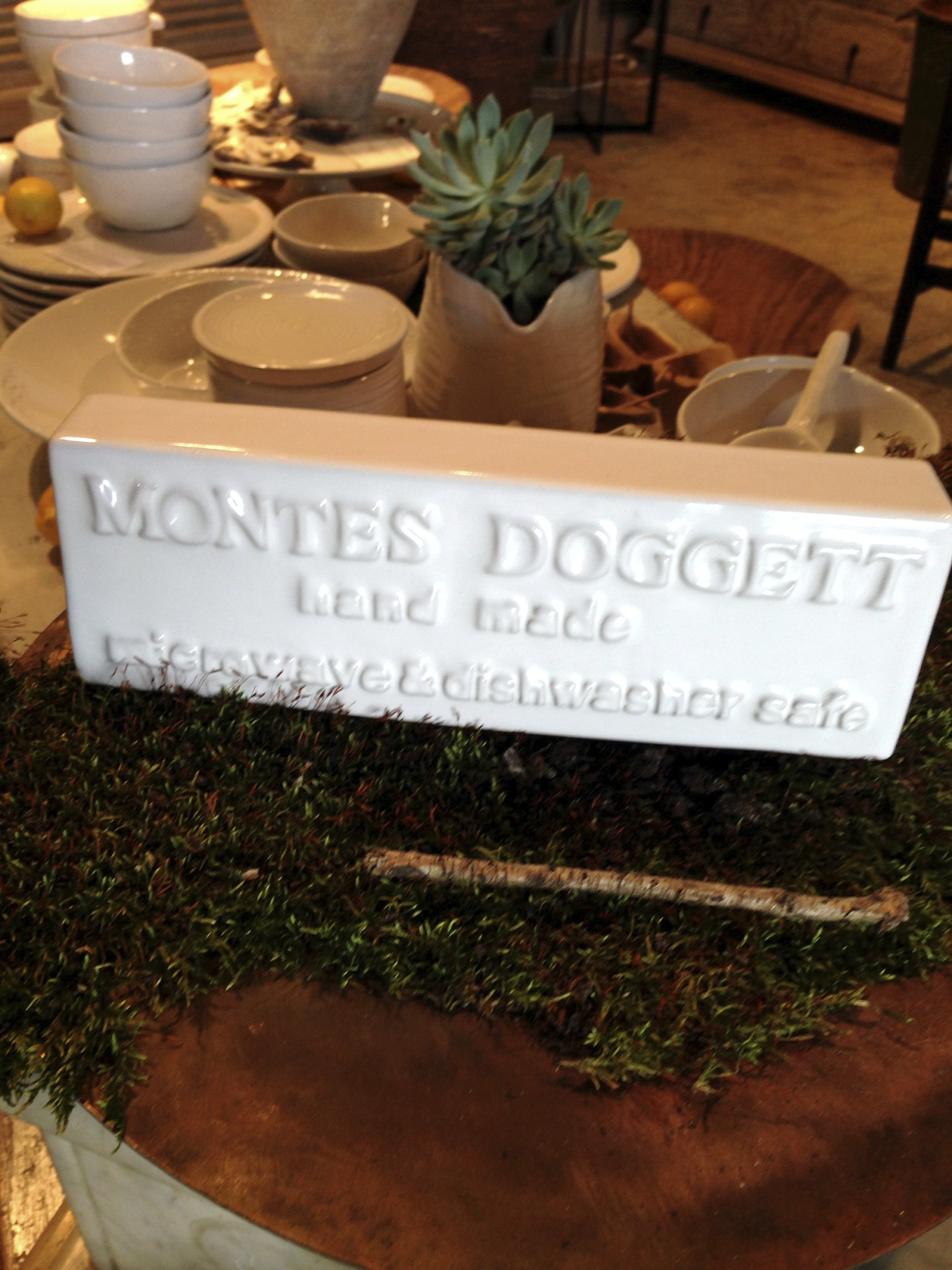 Montes Doggett pottery