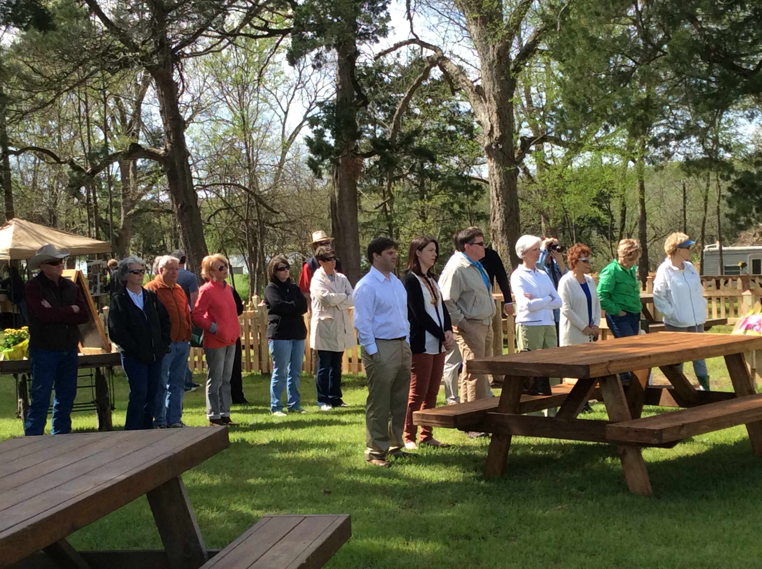 ribbon cutting for Mississippi Scenic Byway