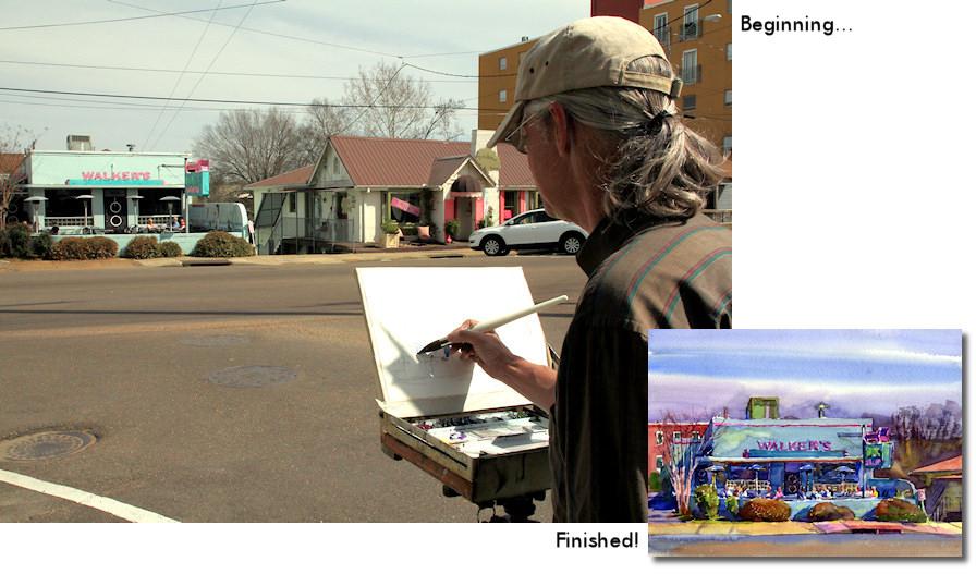 Wyatt Waters artist