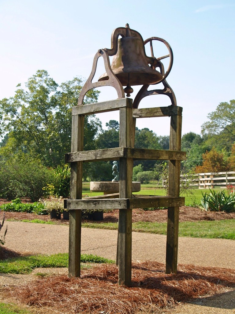 garden, bell