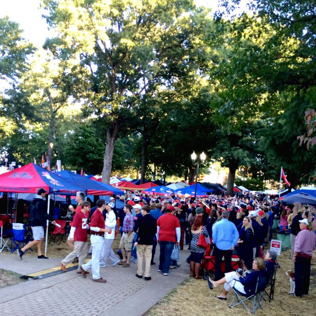 ESPN College Game Day in the Grove at Ole Miss