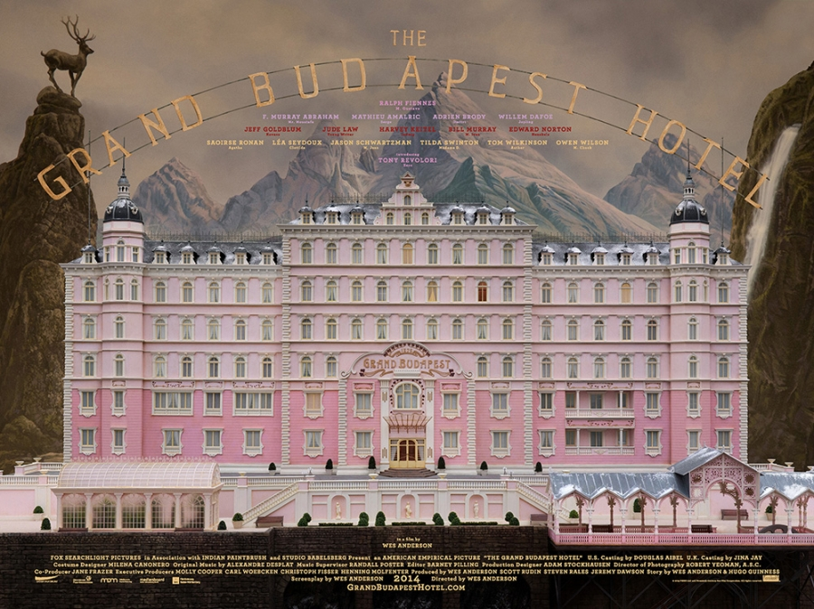 Annie Atkins graphic designer for The Grand Budapest Hotel