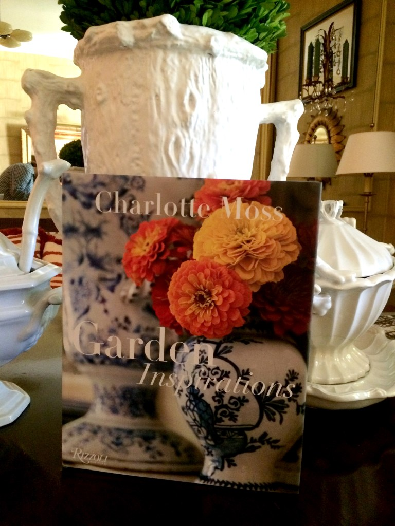 On The Bookshelf:  Charlotte Moss Garden Inspirations