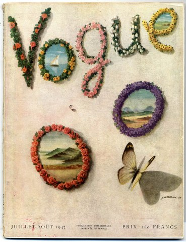 lila di nobili vogue 1947