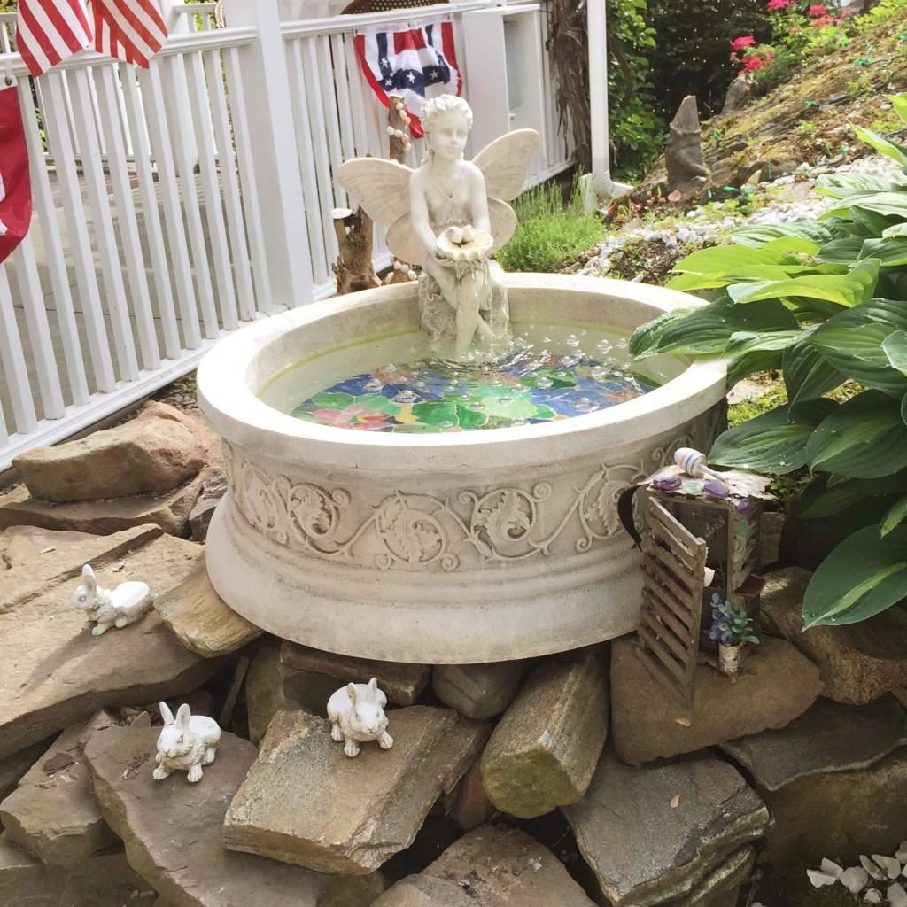 Fairy Garden in Kennebunkport