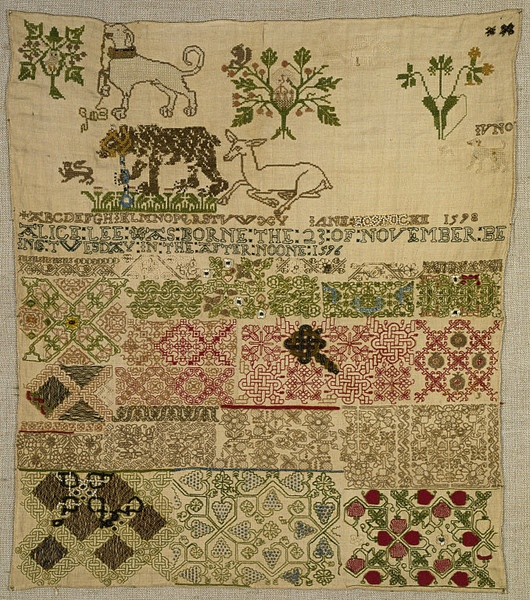 Jane Bostocke sampler
