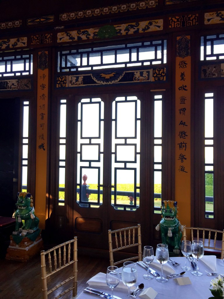 The Chinese Tea House at Marble House