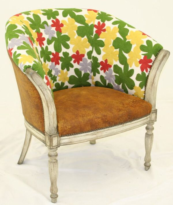 Upholstering with Embroidery