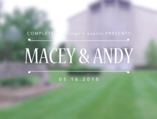 Complete Weddings - Louisville Wedding Videography - Marshall Artz Studio