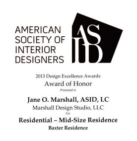 ASID Design Excellence Award 2013