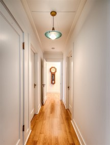 photo of hallway, Wailuku Bungalow Restoration
