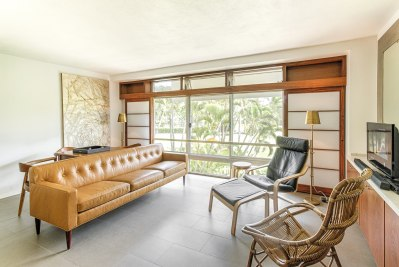 Living Room, Honolulu City Apartment