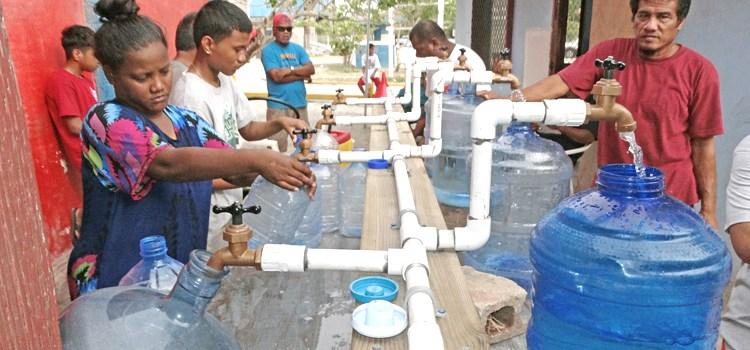 El Niño water struggles