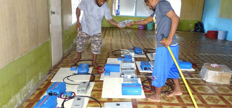 Rongelap homes get solar aid