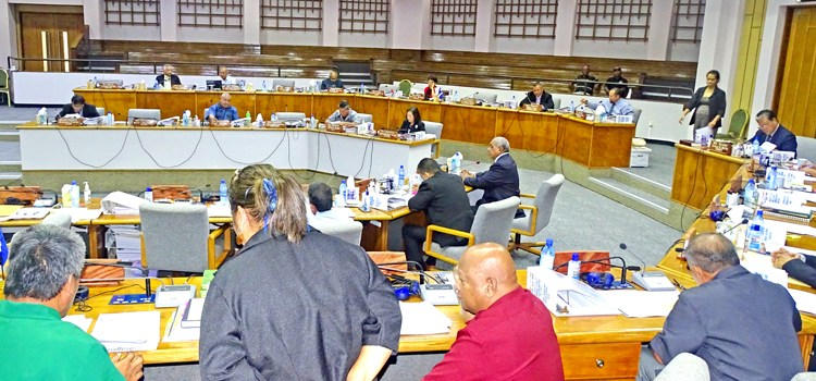 Nitijela tackles new bills