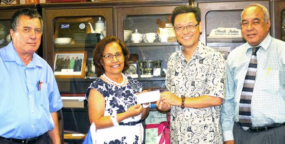 ROC donates $1.8m to RMI