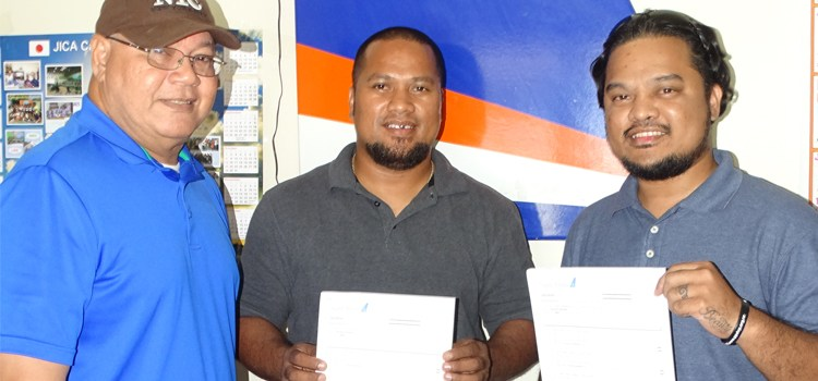 NTC & AMI send 2 for pilot training