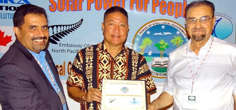 70 homes get solar