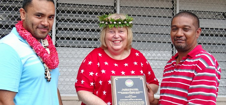 RES, Baldwin honored by DOI