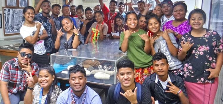 Ebeye students enjoy Majuro tour