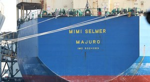A Marshall Islands-flagged vessel in Kauohsiung, Taiwan. The RMI ship registry has made the US Coast Guard's Qualship 21 program for the 14th consecutive year.