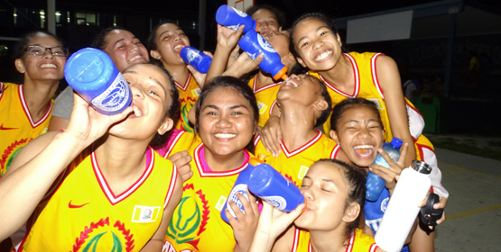 Eco-friendly basketball ladies