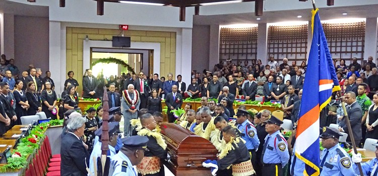State funeral for Iroojlaplap Imata