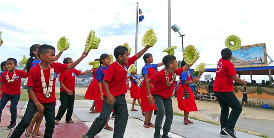 Culture Day blast in Majuro
